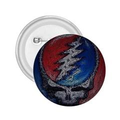 Grateful Dead Logo 2 25  Buttons
