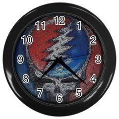 Grateful Dead Logo Wall Clocks (black)