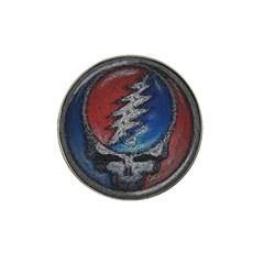 Grateful Dead Logo Hat Clip Ball Marker