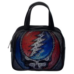 Grateful Dead Logo Classic Handbags (one Side)