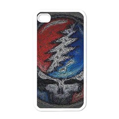 Grateful Dead Logo Apple iPhone 4 Case (White)
