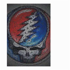 Grateful Dead Logo Small Garden Flag (two Sides)
