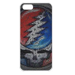 Grateful Dead Logo Apple iPhone 5 Seamless Case (White)