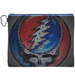 Grateful Dead Logo Canvas Cosmetic Bag (XXXL)