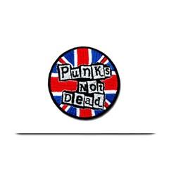 Punk Not Dead Music Rock Uk Flag Plate Mats