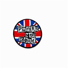 Punk Not Dead Music Rock Uk Flag Large Garden Flag (two Sides)