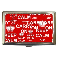Keep Calm And Carry On Cigarette Money Cases