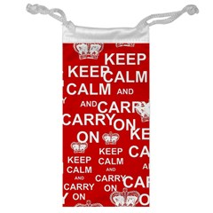 Keep Calm And Carry On Jewelry Bag