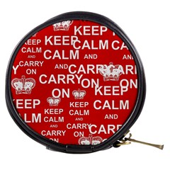 Keep Calm And Carry On Mini Makeup Bags