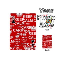 Keep Calm And Carry On Playing Cards 54 (mini)