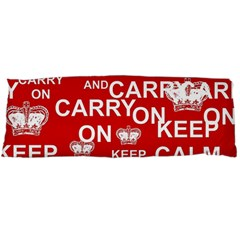 Keep Calm And Carry On Body Pillow Case Dakimakura (two Sides)