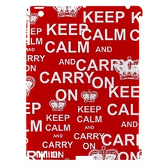 Keep Calm And Carry On Apple Ipad 3/4 Hardshell Case (compatible With Smart Cover)