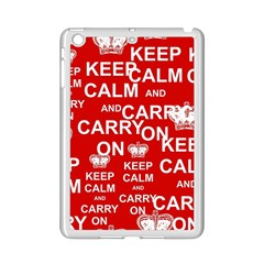 Keep Calm And Carry On iPad Mini 2 Enamel Coated Cases