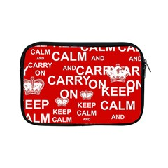 Keep Calm And Carry On Apple iPad Mini Zipper Cases