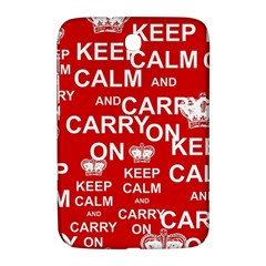 Keep Calm And Carry On Samsung Galaxy Note 8.0 N5100 Hardshell Case