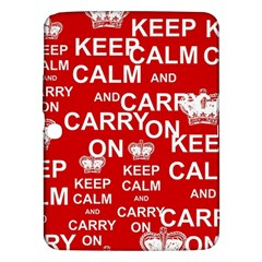 Keep Calm And Carry On Samsung Galaxy Tab 3 (10 1 ) P5200 Hardshell Case