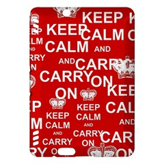 Keep Calm And Carry On Kindle Fire HDX Hardshell Case