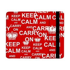 Keep Calm And Carry On Samsung Galaxy Tab Pro 8.4  Flip Case
