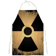 Radioactive Warning Signs Hazard Full Print Aprons