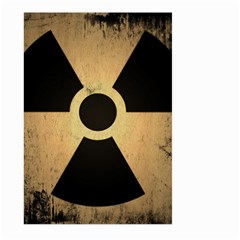 Radioactive Warning Signs Hazard Large Garden Flag (two Sides)