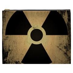 Radioactive Warning Signs Hazard Cosmetic Bag (XXXL)