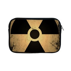 Radioactive Warning Signs Hazard Apple iPad Mini Zipper Cases