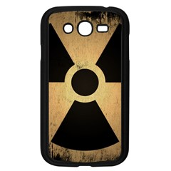 Radioactive Warning Signs Hazard Samsung Galaxy Grand DUOS I9082 Case (Black)