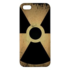 Radioactive Warning Signs Hazard iPhone 5S/ SE Premium Hardshell Case