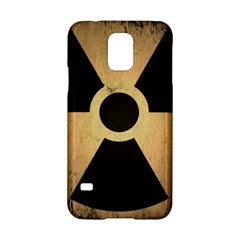 Radioactive Warning Signs Hazard Samsung Galaxy S5 Hardshell Case