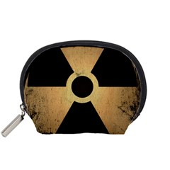 Radioactive Warning Signs Hazard Accessory Pouches (Small)