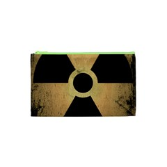 Radioactive Warning Signs Hazard Cosmetic Bag (XS)