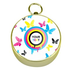 Colorful Butterfly Rainbow Circle Animals Fly Pink Yellow Black Blue Text Gold Compasses