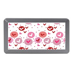 Crafts Chevron Cricle Pink Love Heart Valentine Memory Card Reader (Mini)