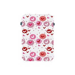 Crafts Chevron Cricle Pink Love Heart Valentine Apple iPad Mini Protective Soft Cases