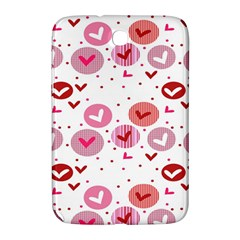Crafts Chevron Cricle Pink Love Heart Valentine Samsung Galaxy Note 8.0 N5100 Hardshell Case