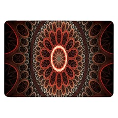 Circles Shapes Psychedelic Symmetry Samsung Galaxy Tab 8.9  P7300 Flip Case