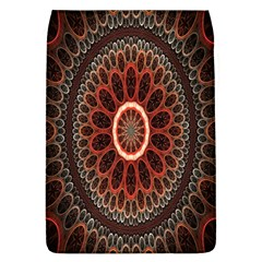 Circles Shapes Psychedelic Symmetry Flap Covers (L)