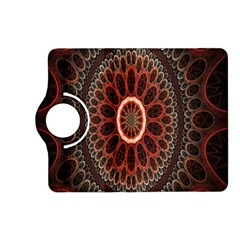 Circles Shapes Psychedelic Symmetry Kindle Fire HD (2013) Flip 360 Case