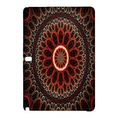 Circles Shapes Psychedelic Symmetry Samsung Galaxy Tab Pro 10.1 Hardshell Case