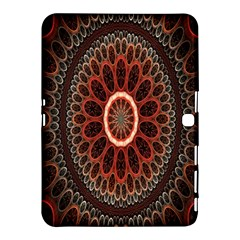 Circles Shapes Psychedelic Symmetry Samsung Galaxy Tab 4 (10.1 ) Hardshell Case