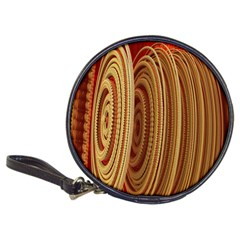 Circles Figure Light Gold Classic 20-CD Wallets