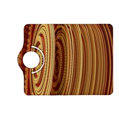 Circles Figure Light Gold Kindle Fire HD (2013) Flip 360 Case