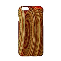 Circles Figure Light Gold Apple iPhone 6/6S Hardshell Case