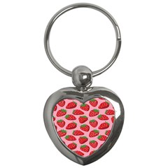 Fruitb Red Strawberries Key Chains (Heart)