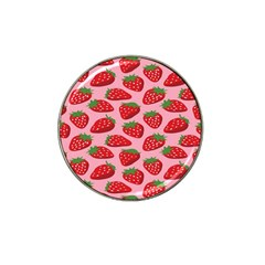 Fruitb Red Strawberries Hat Clip Ball Marker