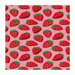 Fruitb Red Strawberries Medium Glasses Cloth (2-Side)