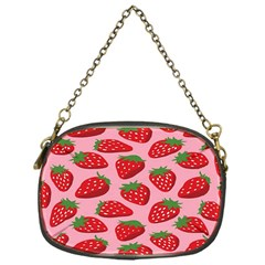 Fruitb Red Strawberries Chain Purses (One Side)