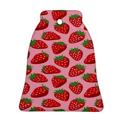 Fruitb Red Strawberries Ornament (Bell)