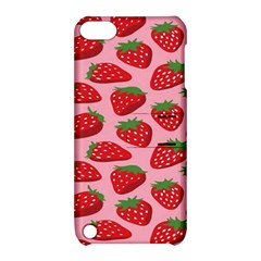 Fruitb Red Strawberries Apple iPod Touch 5 Hardshell Case with Stand