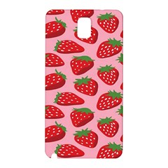 Fruitb Red Strawberries Samsung Galaxy Note 3 N9005 Hardshell Back Case